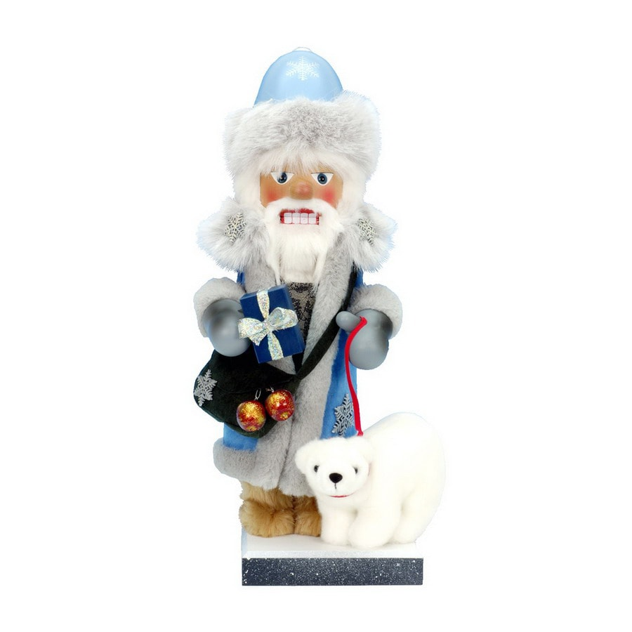 Alexander Taron 1-Piece Christian Ulbricht Tabletop Father Frost Nutcracker Indoor Christmas Decoration