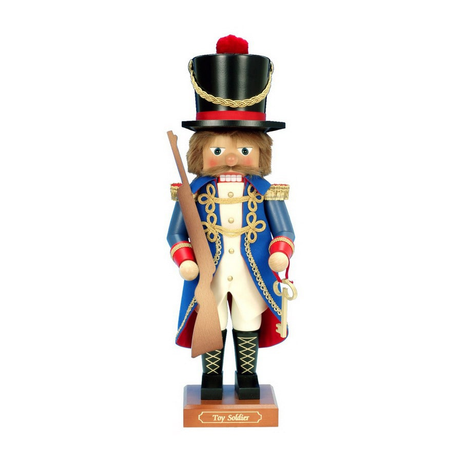 Alexander Taron Wood Soldier Nutcracker Ornament