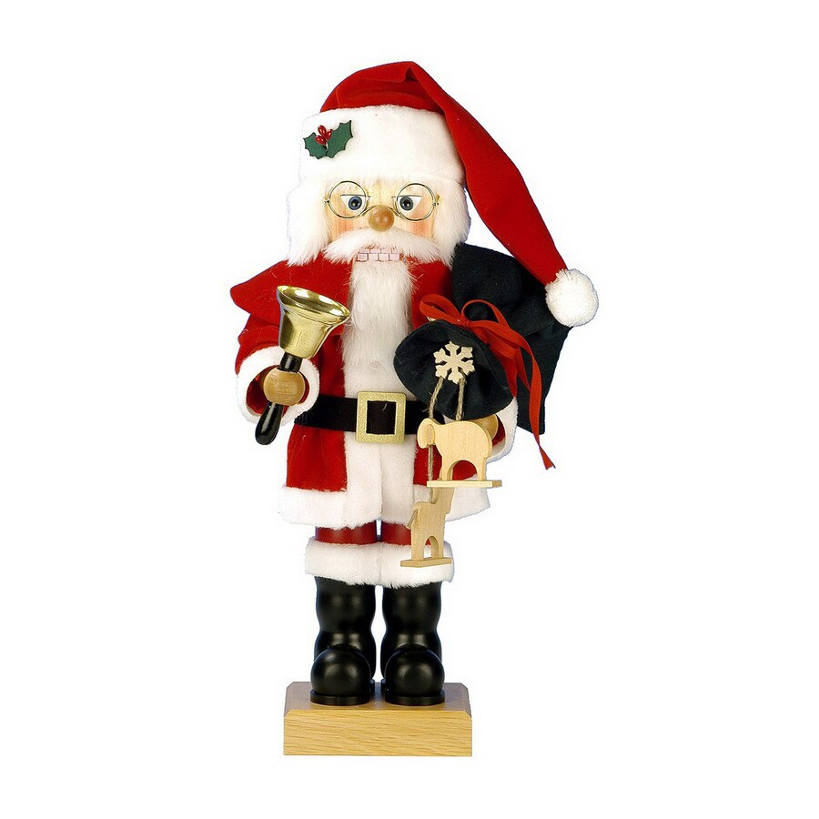 Alexander Taron Wood Merrymaker Nutcracker Ornament