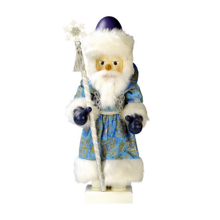 Alexander Taron Wood Father Frost Nutcracker Ornament