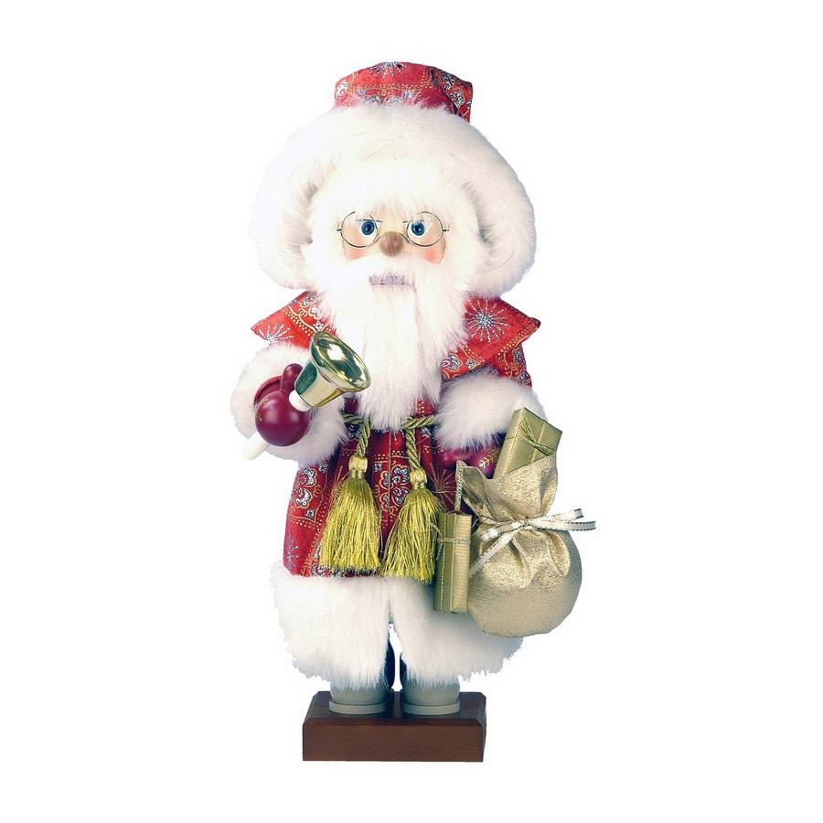 Alexander Taron Wood Noble Santa Red Nutcracker Ornament