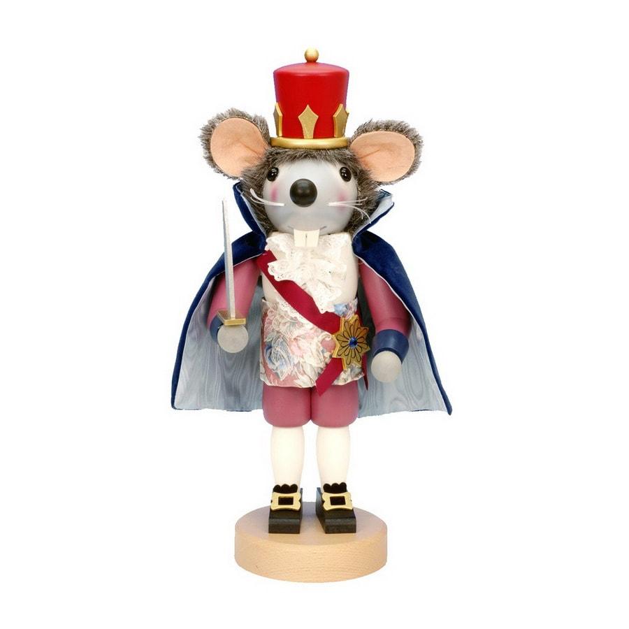 Alexander Taron Wood Mouse King Nutcracker Ornament