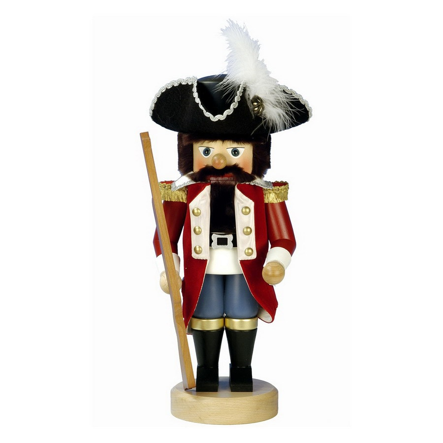 Alexander Taron Wood Toy Soldier Nutcracker Ornament