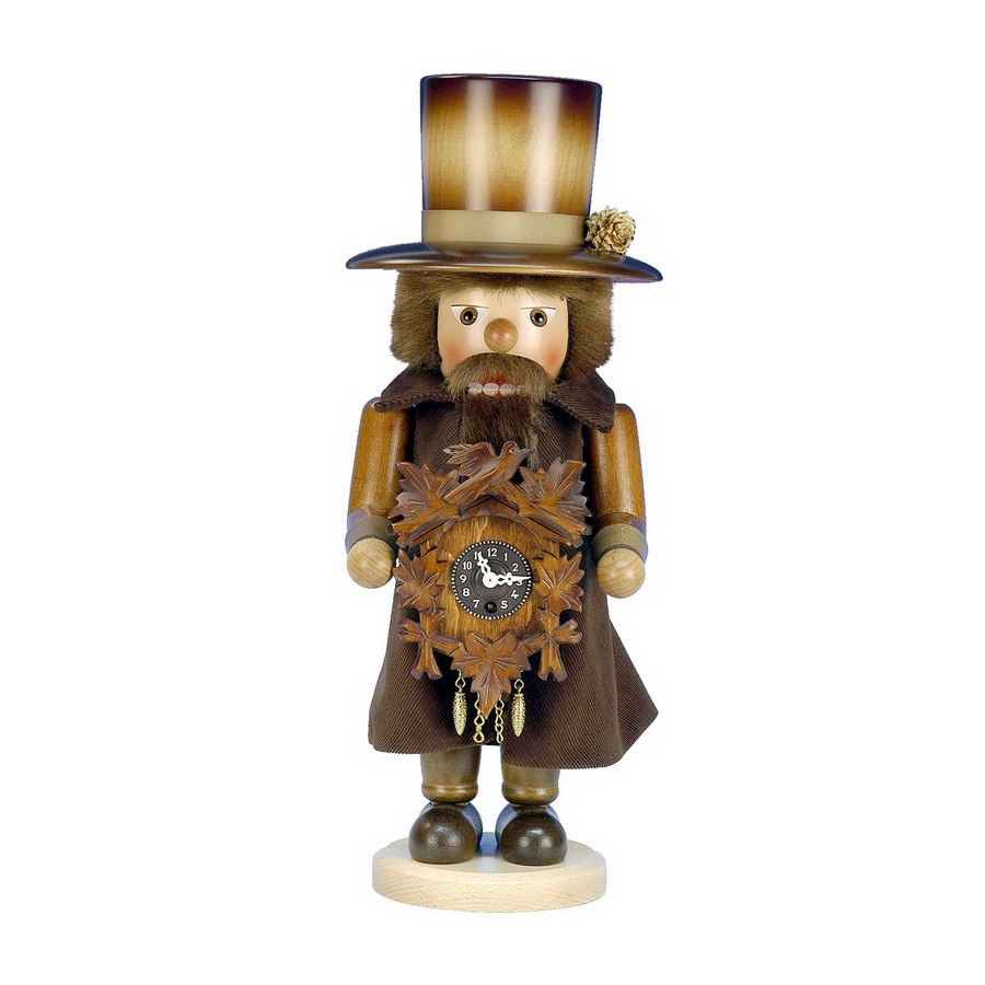 Alexander Taron 1-Piece Christian Ulbricht Tabletop Clock Maker Nutcracker Indoor Christmas Decoration