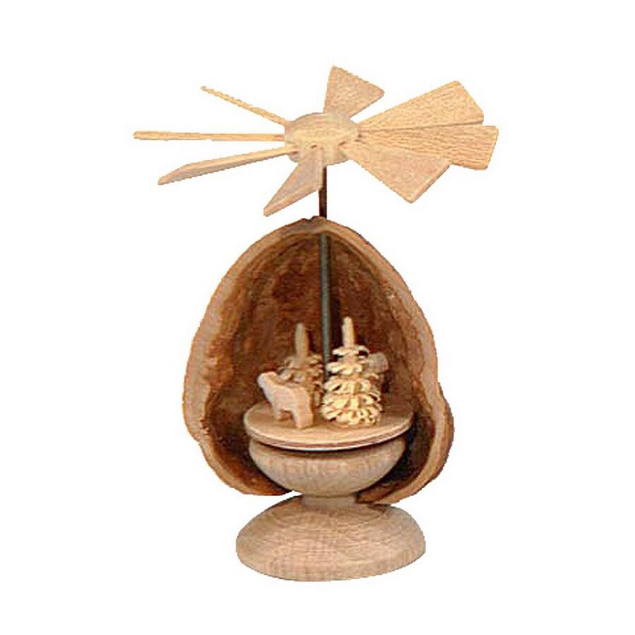 Alexander Taron 1-Piece Dregeno Tabletop Candle Pyramid Indoor Christmas Decoration
