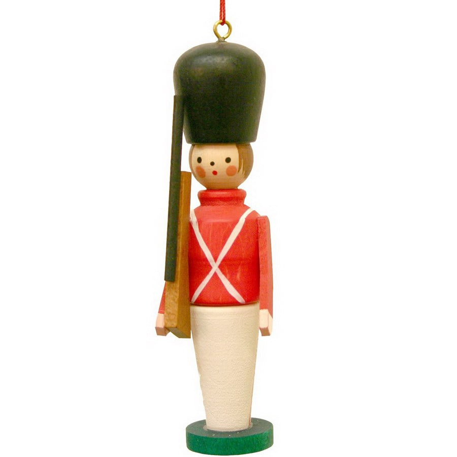 alexander taron multicolor wood toy toy soldier ornament - Christmas Decorations Wooden Soldiers