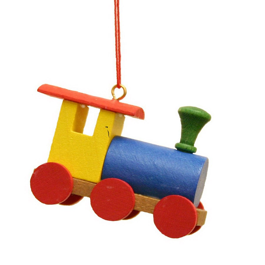 Alexander Taron Plastic Toy Train Ornament