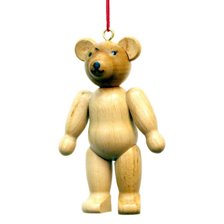 Alexander Taron Wood Bear Ornament