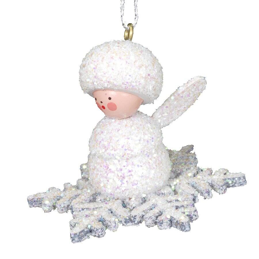 Alexander Taron Plastic Angel Snowflake Ornament