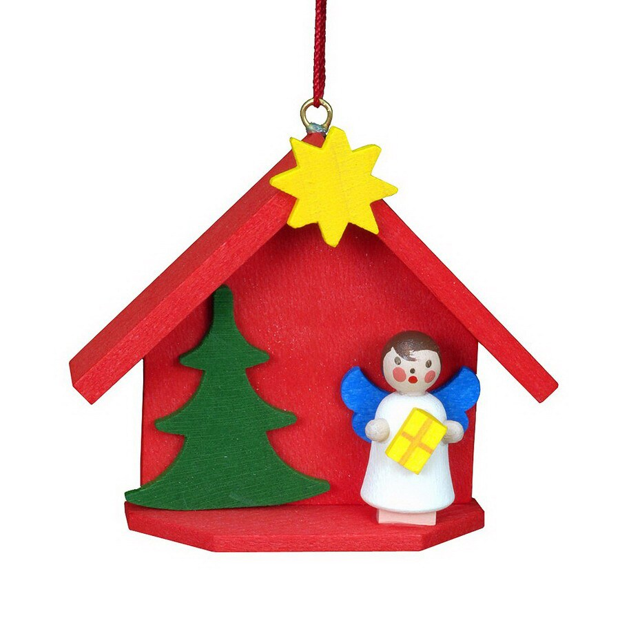 Alexander Taron Plastic Angel House Ornament