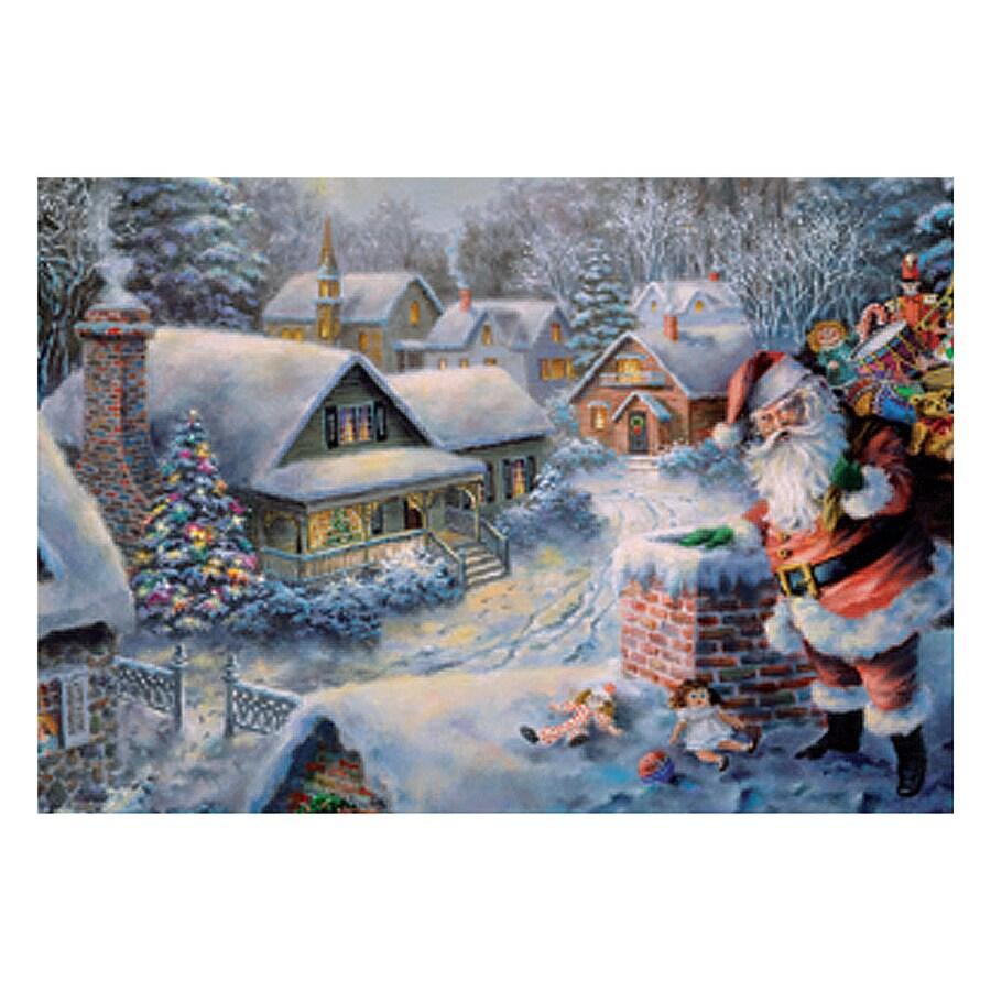 Alexander Taron Santa On Roof Santa Advent Calendar