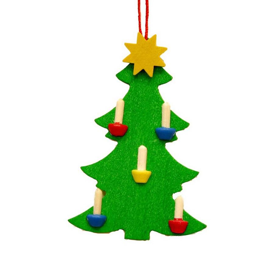 Alexander Taron Wood Christmas Tree Ornament