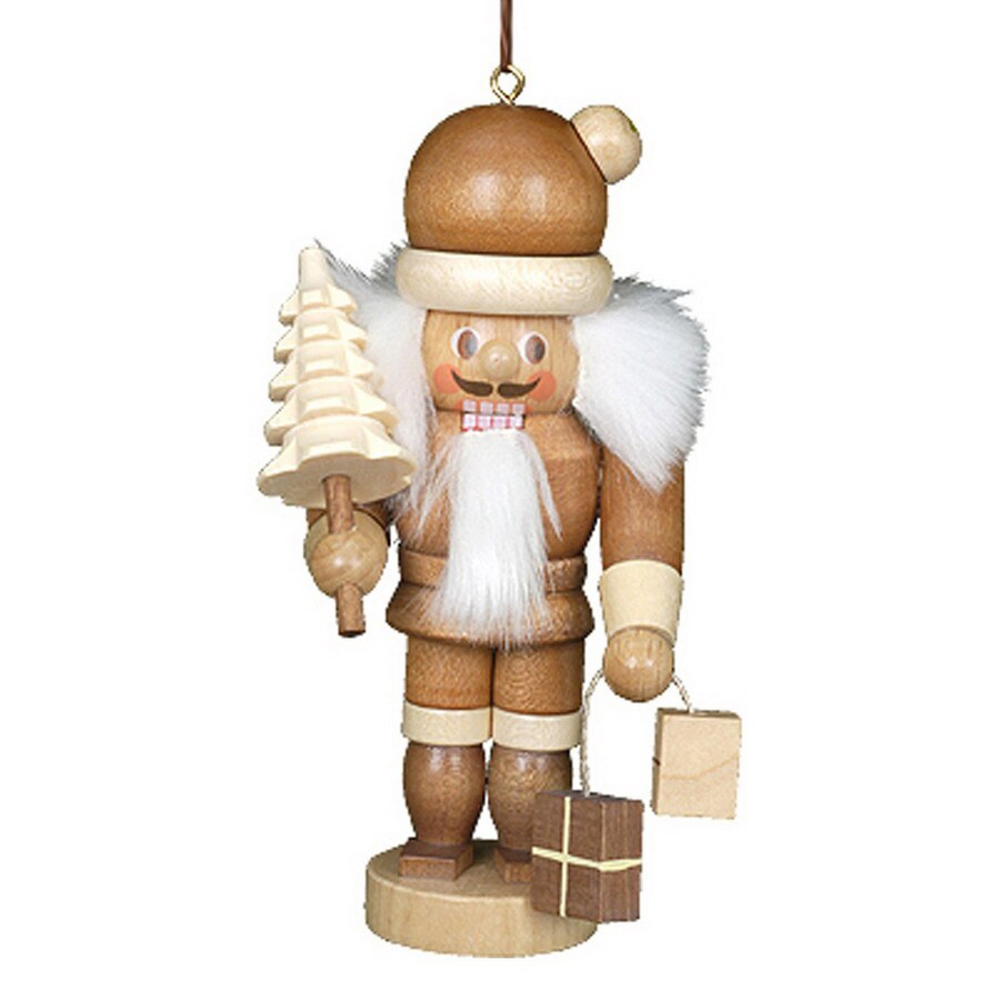 Alexander Taron Wood Santa Nutcracker  Ornament