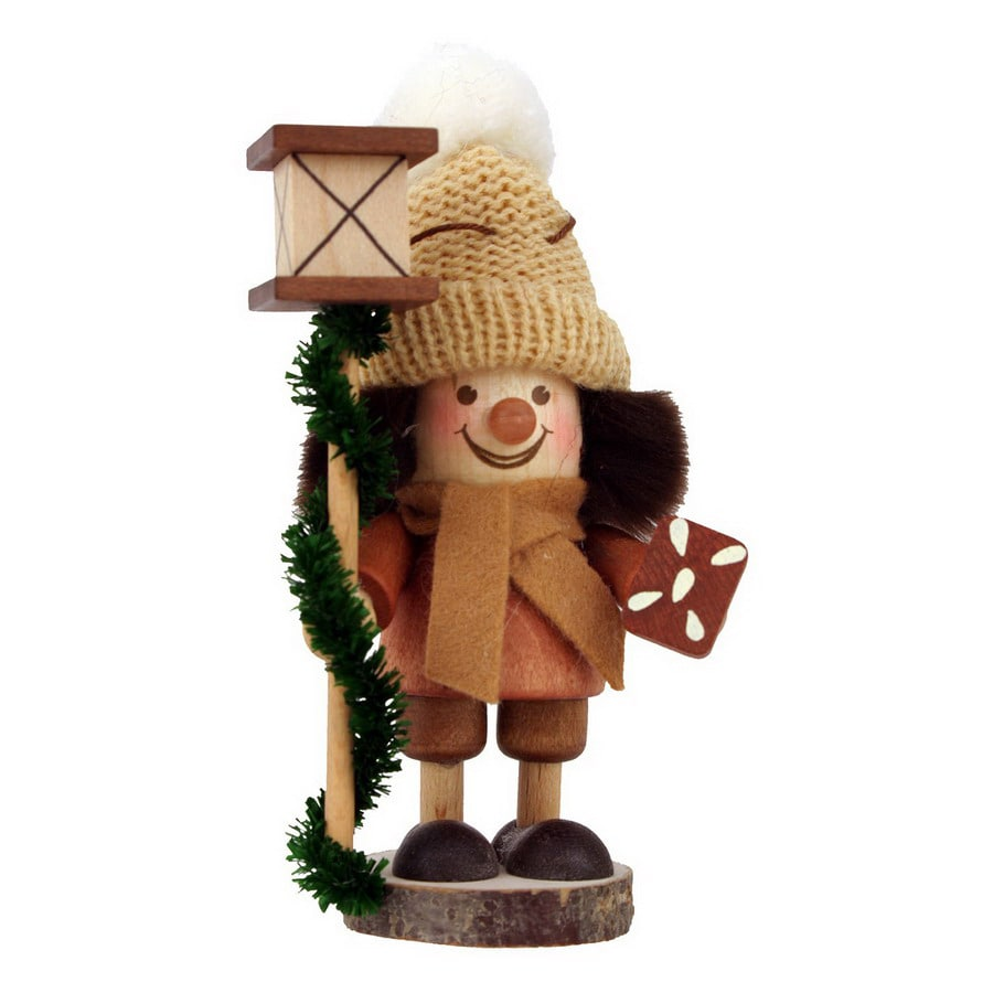 Alexander Taron Wood Gingerbread Boy Ornament