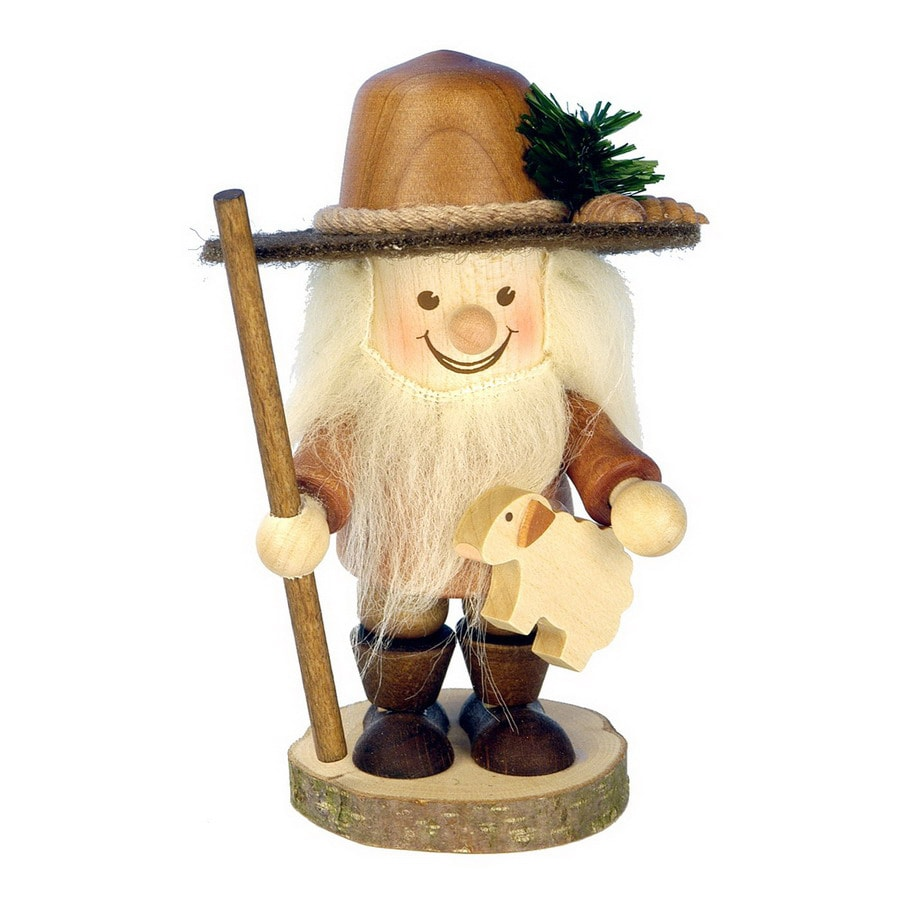 Alexander Taron Wood Shepherd Boy Ornament
