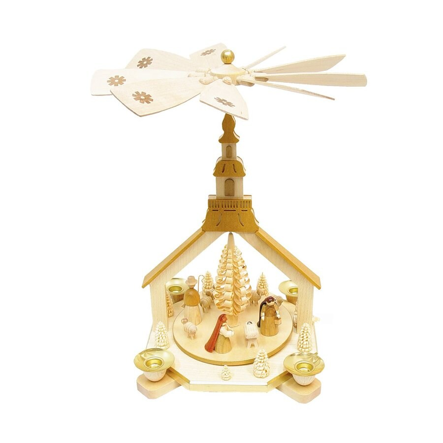 Alexander Taron Candle Holder Nativity Indoor Christmas Decoration