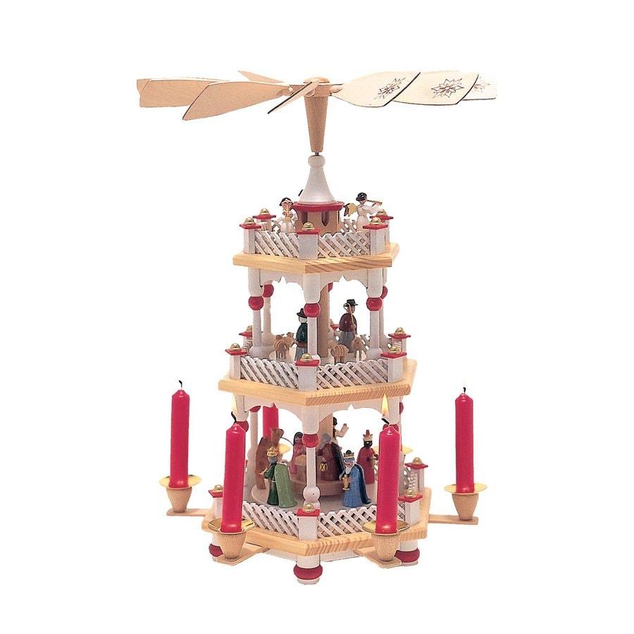 Alexander Taron Candle Holder Nativity Indoor Christmas Decoration