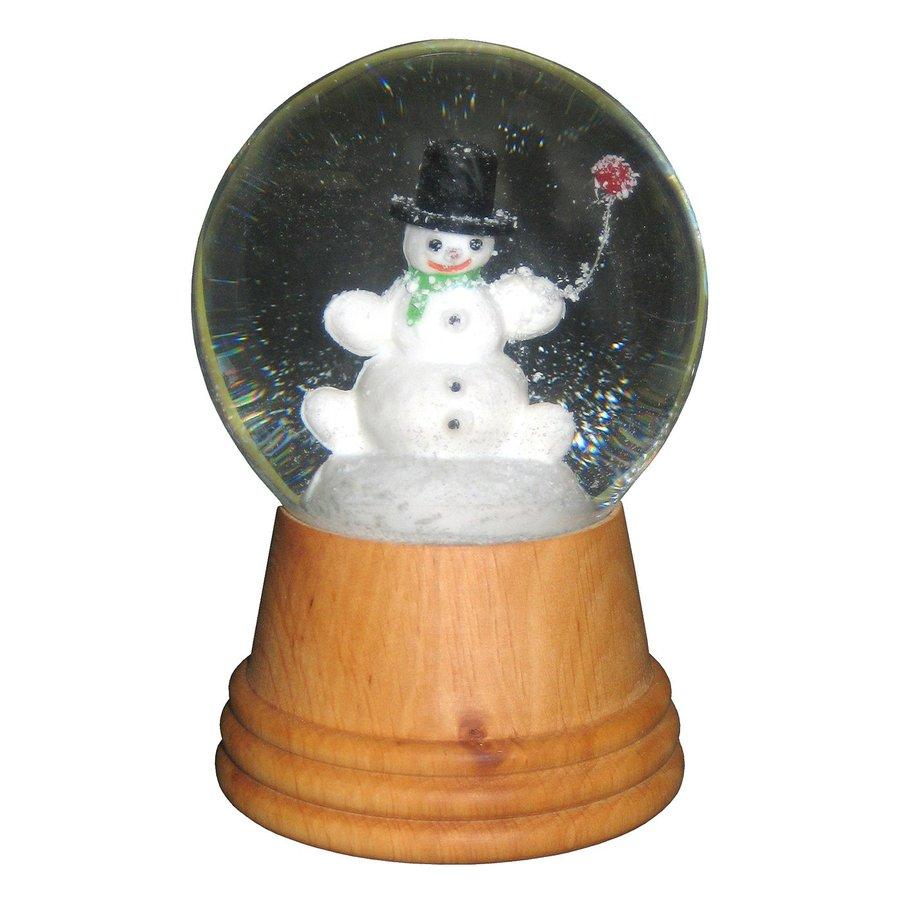 Alexander Taron Snowman Snowman Snow Globe