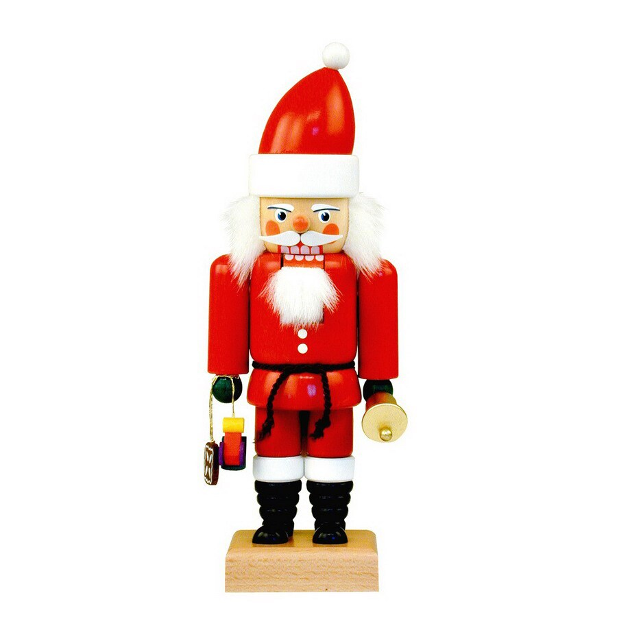 Alexander Taron Wood Santa Nutcracker Ornament