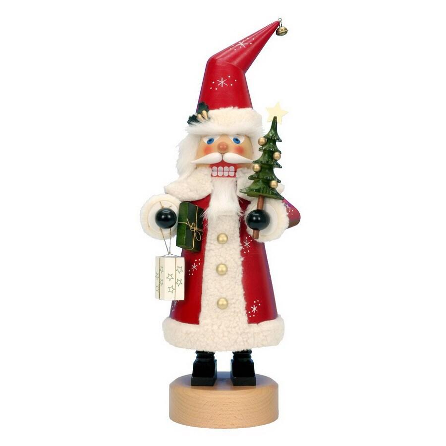 Alexander Taron Wood Red Santa Nutcracker Ornament