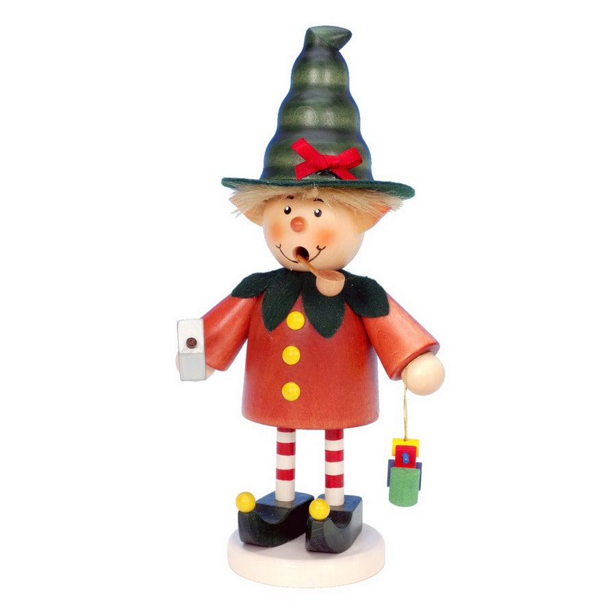 Alexander Taron Wood Elf Smoker Ornament