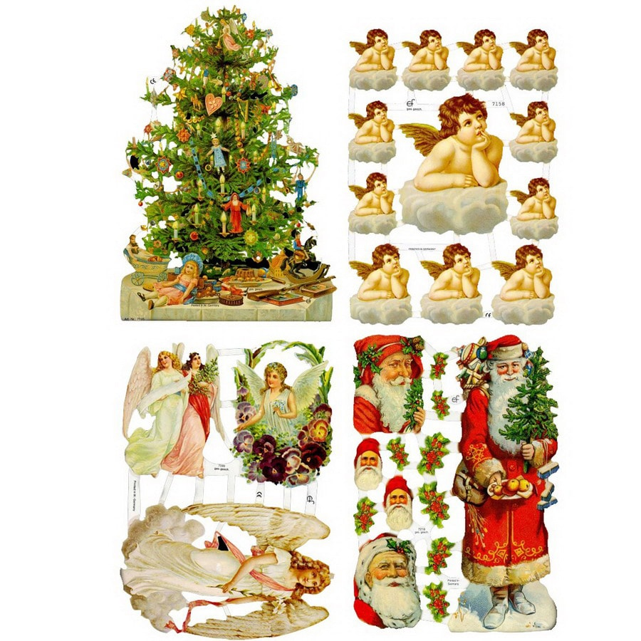 Alexander Taron Christmas Artwork Pages Ornament