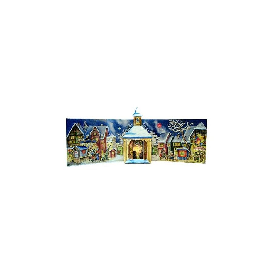 Alexander Taron Tabletop Advent Calendar Indoor Christmas Decoration