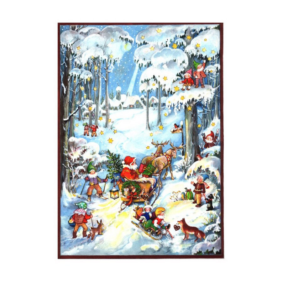Alexander Taron Advent Calendar Indoor Christmas Decoration