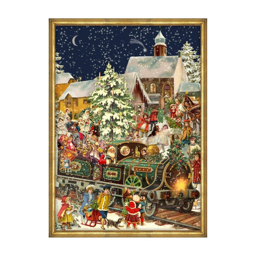 Alexander Taron Santa and Train Train Advent Calendar
