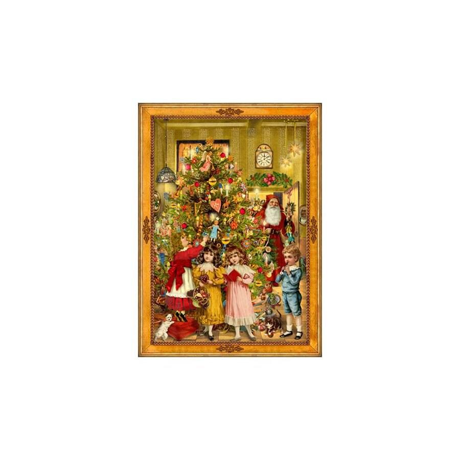 Alexander Taron Advent Calendar Indoor Christmas Decoration