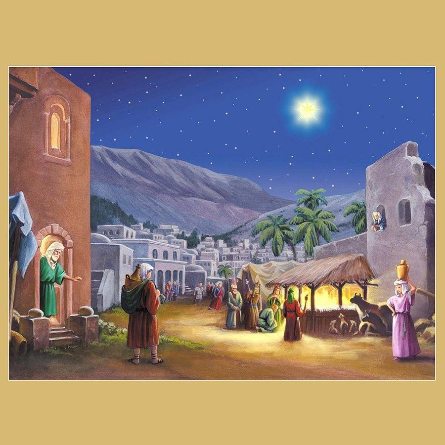 Alexander Taron Manger Nativity Advent Calendar
