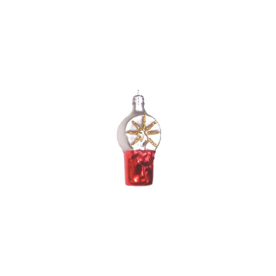 Alexander Taron Glass Candle Ornament