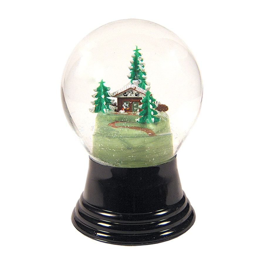 Alexander Taron House And Tree Winter Scene Snow Globe