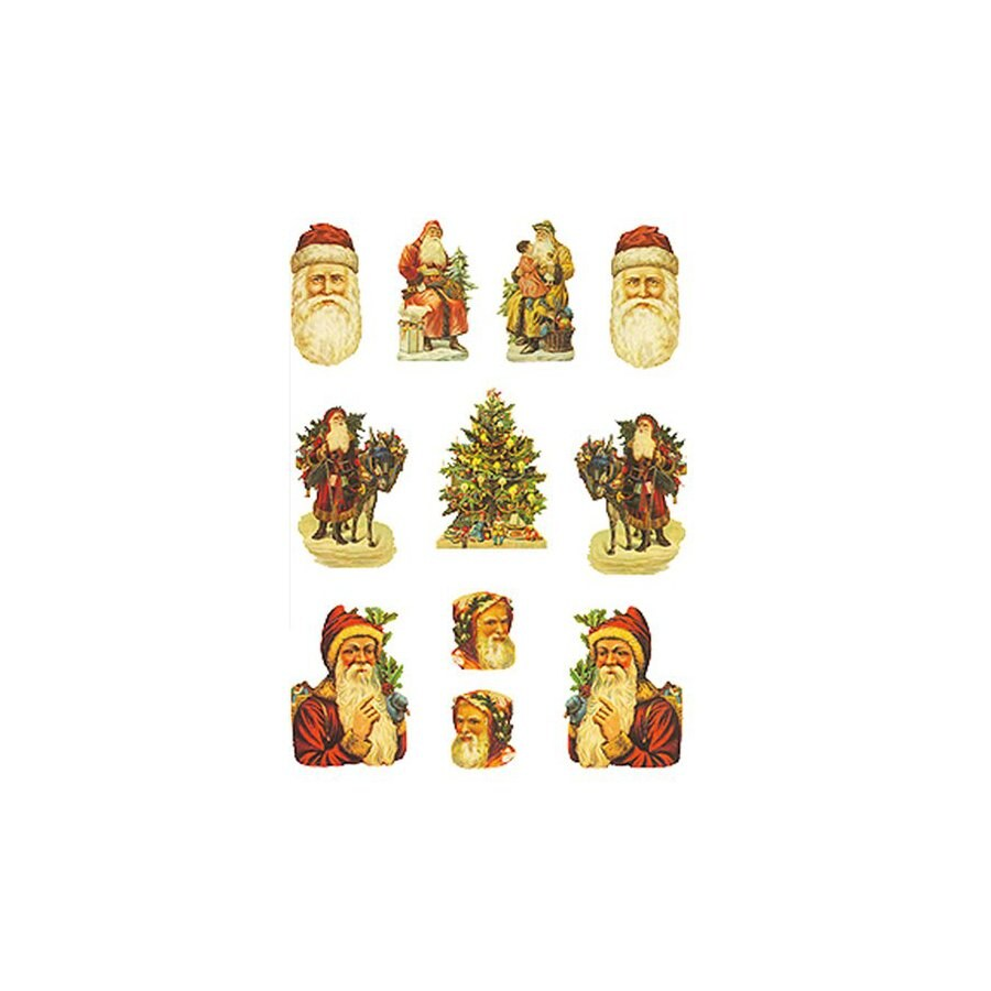 Alexander Taron 11-Pack Santa's Table Decor Ornaments