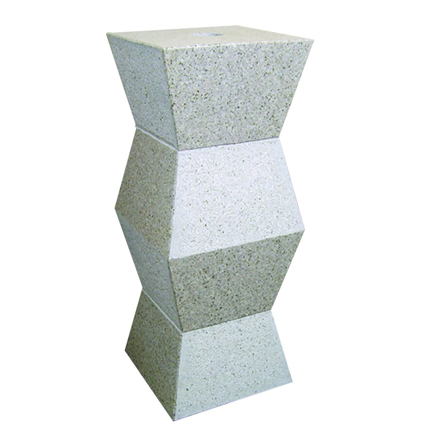 Yosemite Home Decor 28 In H Stone Products Polished Beige Granite