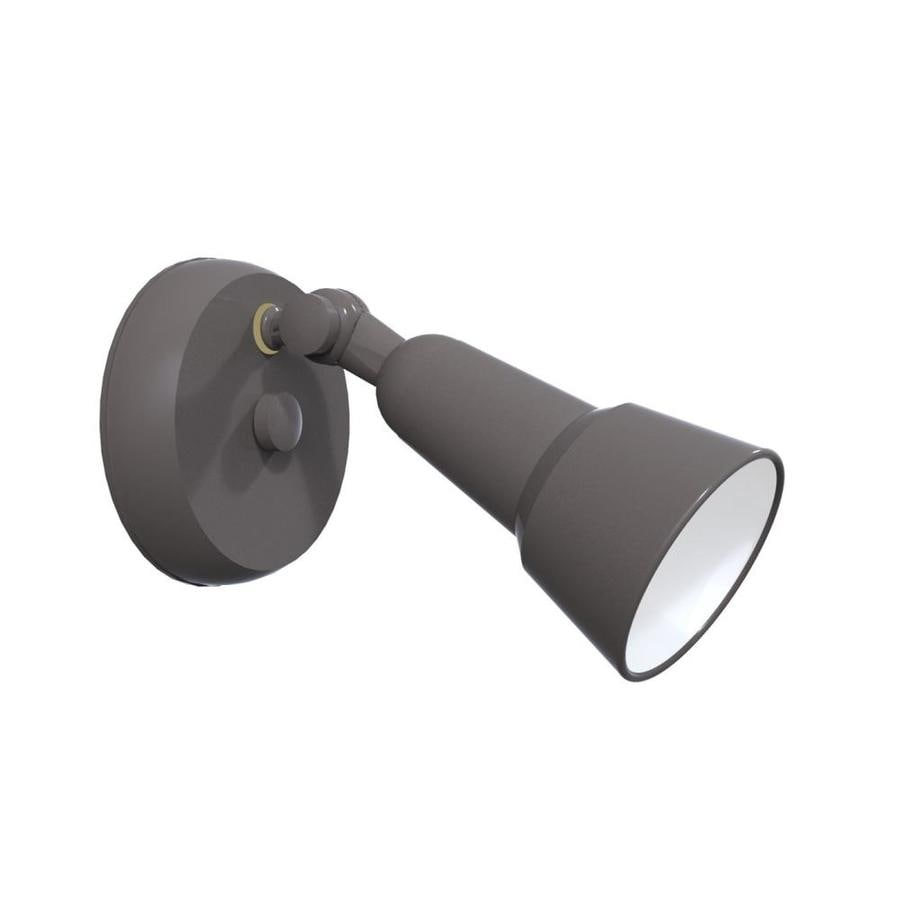 Remcraft Lighting Swedish Modern H Black Outdoor Wall Light