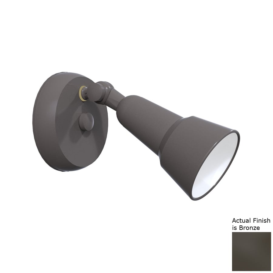 Remcraft Lighting Swedish Modern H Bronze Outdoor Wall Light