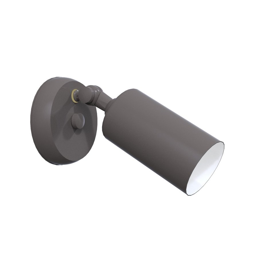 Remcraft Lighting Cylinders H Grey Outdoor Wall Light