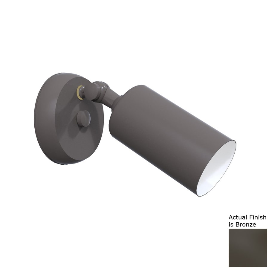 Remcraft Lighting Cylinders H Bronze Outdoor Wall Light