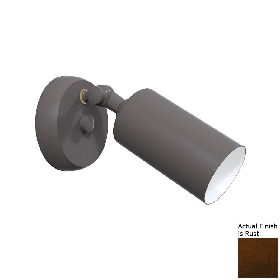 Remcraft Lighting Cylinders H Rust Outdoor Wall Light