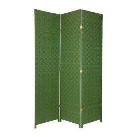 Oriental Furniture 52.5 In W X 71 In H Green Vinyl/Polyresin Outdoor