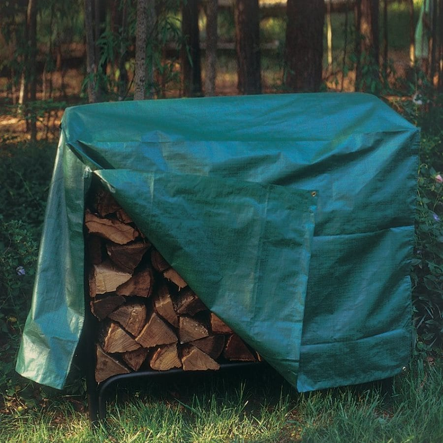 Bosmere 50-in L x 24-in W x 36-in H Plastic Firewood Cover