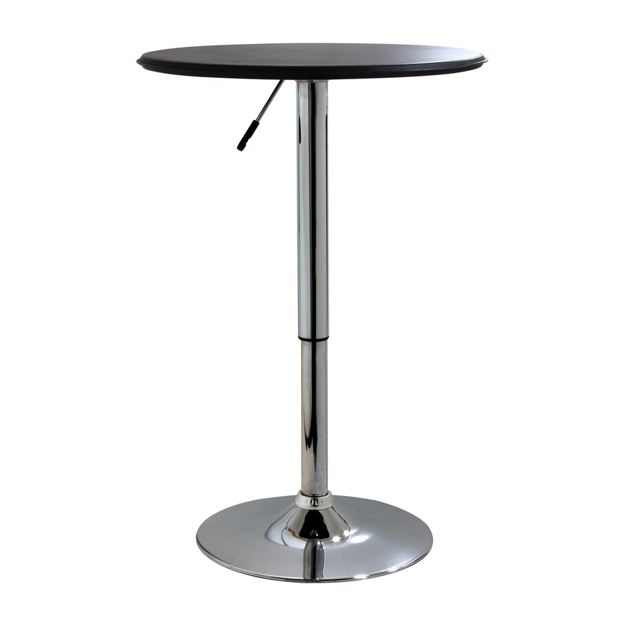 Buffalo Amerihome 25-in W x 25-in L Round Chrome Bar Table