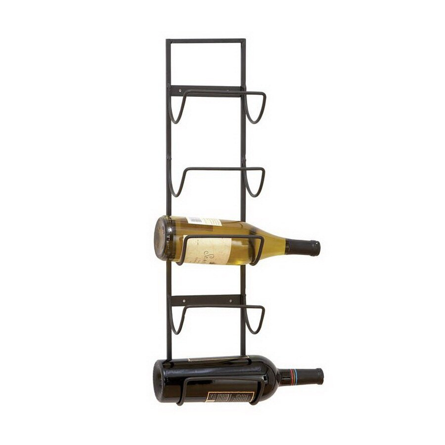 Shop Woodland Imports 5-Bottle Wall-Mount Wine Rack at Lowes.com
