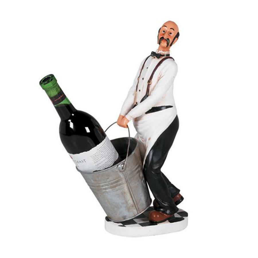 RAM Gameroom Products 1-Bottle Tabletop Wine Rack