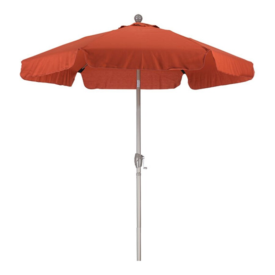 Phat Tommy Brick Garden Patio Umbrella (Common: 7.5-ft W x 7.5-ft L; Actual: 7.67-ft W x 7.67-ft L)