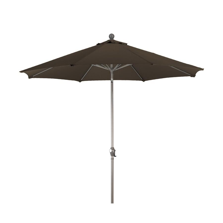 Phat Tommy Teak Market Patio Umbrella (Common: 9-ft W x 9-ft L; Actual: 9-ft W x 9-ft L)