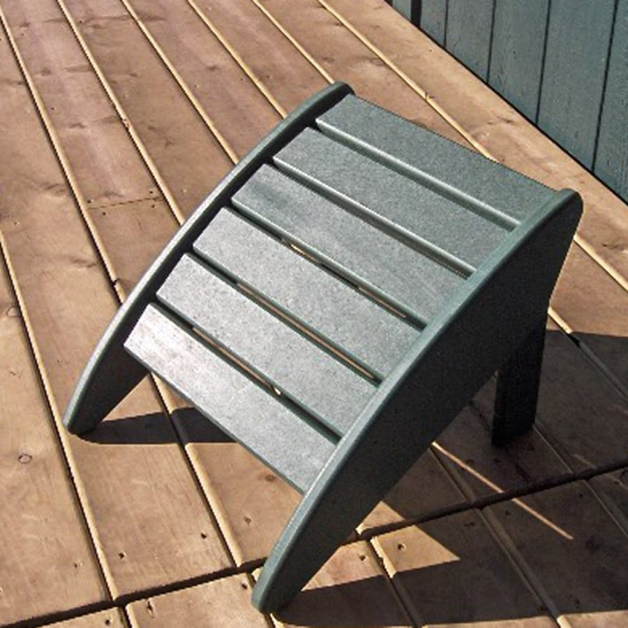 Phat Tommy Hunter Green Recycled Plastic Foot Stool