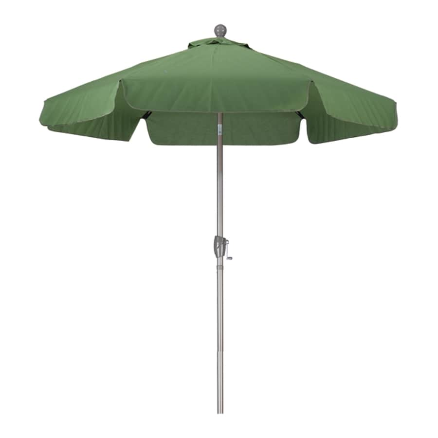 Phat Tommy Spring Green Garden Patio Umbrella (Common: 7.5-ft W x 7.5-ft L; Actual: 7.67-ft W x 7.67-ft L)