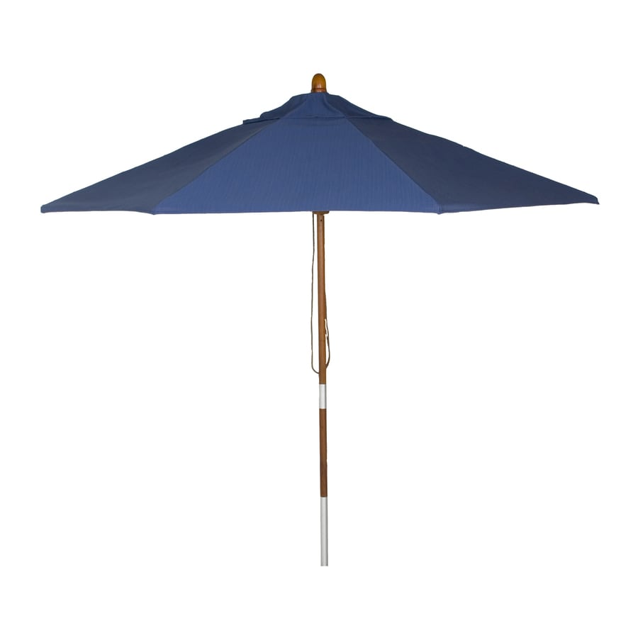 Phat Tommy Galaxy Market Patio Umbrella (Common: 9-ft W x 9-ft L; Actual: 9-ft W x 9-ft L)